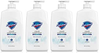 Sponsored Ad - Safeguard Liquid Hand Soap, Washes Away Bacteria, Micellar Deep Cleansing, Fresh Clean Scent, 25 Oz (Pack o...