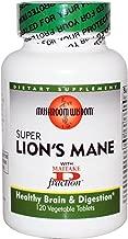 Mushroom Wisdom Super Lion's Mane - 120 Vegetable Tablets