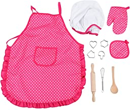 Amazon.es: gorro y delantal cocinero niño