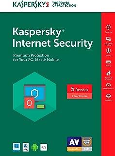 Kaspersky Internet Security 2017 | 5 Device | 1 Year | Download [Online Code]