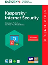 Kaspersky Internet Security 2017 | 5 Device | 1 Year | Download [Online Code]