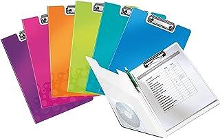 Fermalibri Fermalibri Porta Documenti da Ufficio Porta Documenti LIZONGFQ Portariviste in Pelle Stile Verticale Nero Porta Documenti 2 Slot