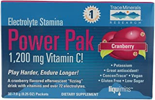 Trace Minerals Electrolyte Stamina Power Pak - Cranberry 30 Pkts