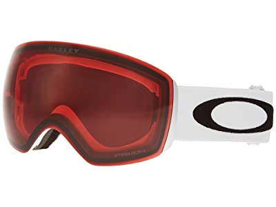 Oakley Flight Deck (Matte White/Prizm Rose) Snow Goggles