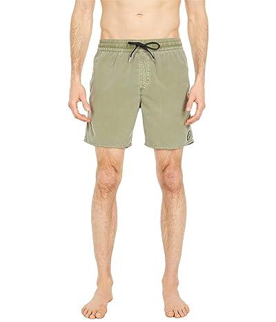 Volcom Center 17 Trunks (Seagrass Green) Men