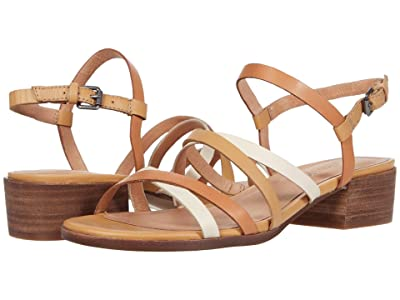 Madewell Natty Skinny Strap Sandal (Dried Rose Multi) Women