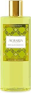 AGRARIA Lemon Verbena Luxury Bath and Shower Gel 8.45 Ounces