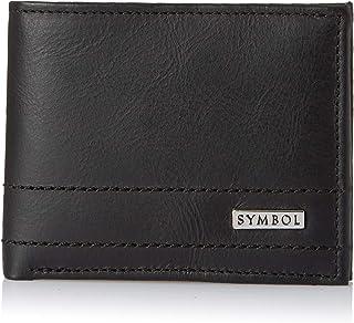 Amazon Brand - Symbol Men's Bi-fold RFID protected 100% Genuine Leather wallet