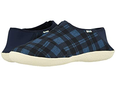 TOMS Rodeo (Navy Twill Check) Men