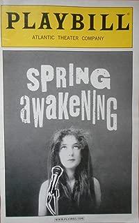 SPRING AWAKENING - PLAYBILL - MAY 2006 - VOL. 122 - NO. 5