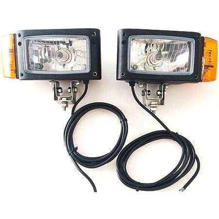 Scheinwerfer CLAAS VOLVO Radlader Bagger links rechts Abblendlicht mit Blinker