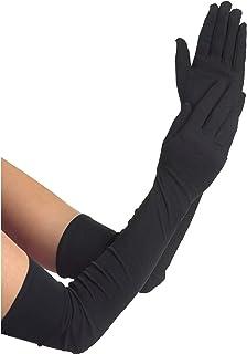 Amscan 840206 Women Long Black Gloves, 1 Pair