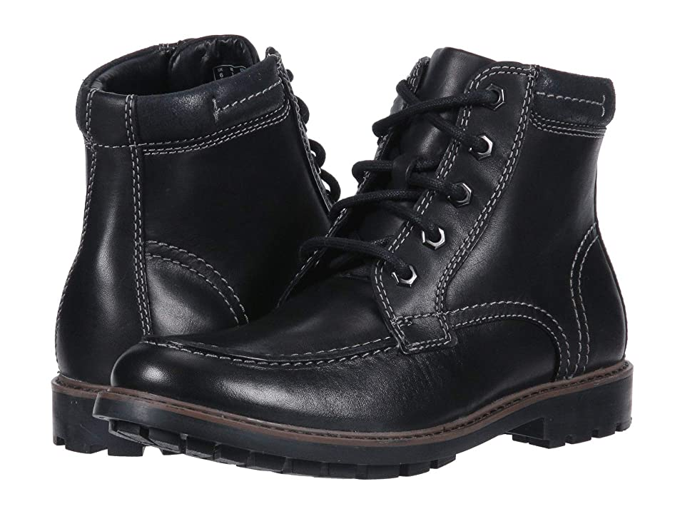 Clarks Curington High (Black Leather) Men