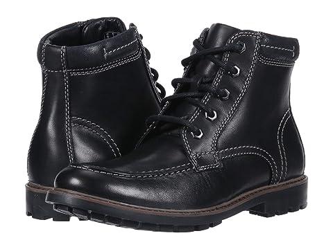 CLARKS Men'S Currington High Leather Boots Men'S Shoes in Black