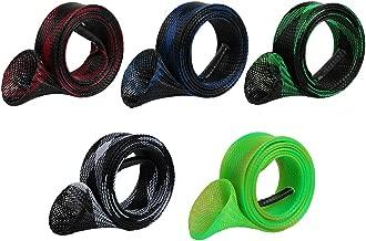 kilofly Pack of 5/8 Fishing Rod Protective Sleeve