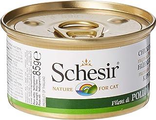 Schesir Cat Chicken Fillets Jelly Can 85g