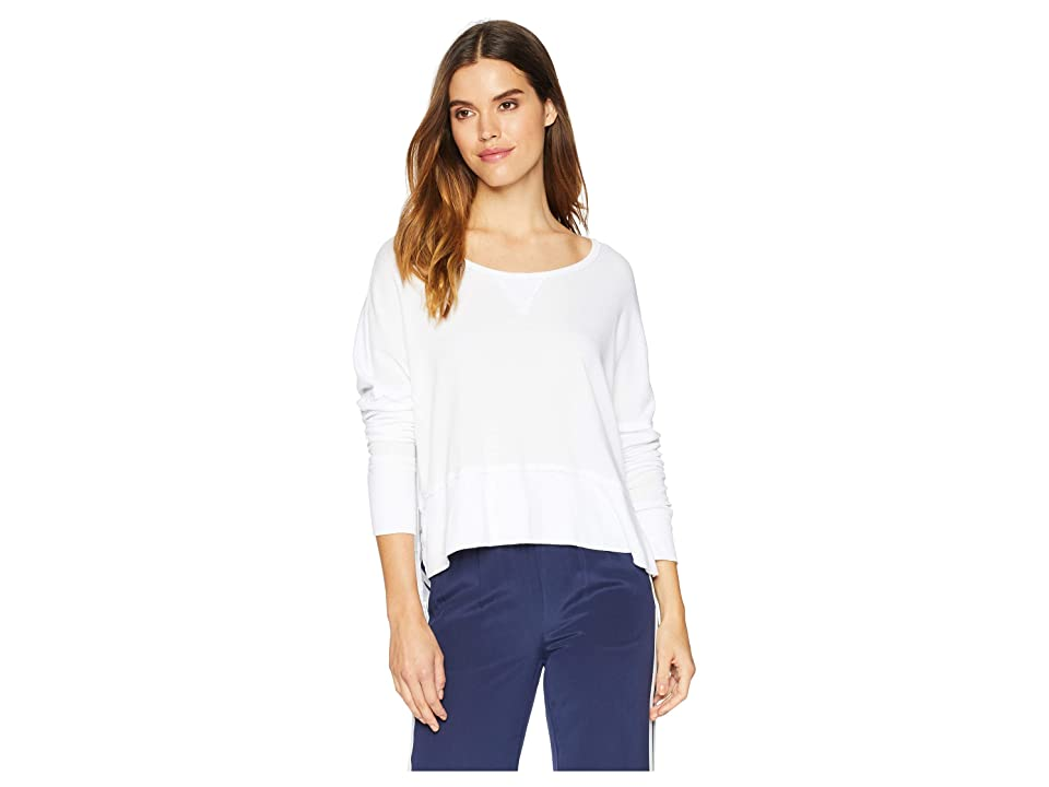 LAmade Lori Long Sleeve Top (White) Women's Long Sleeve Pullover