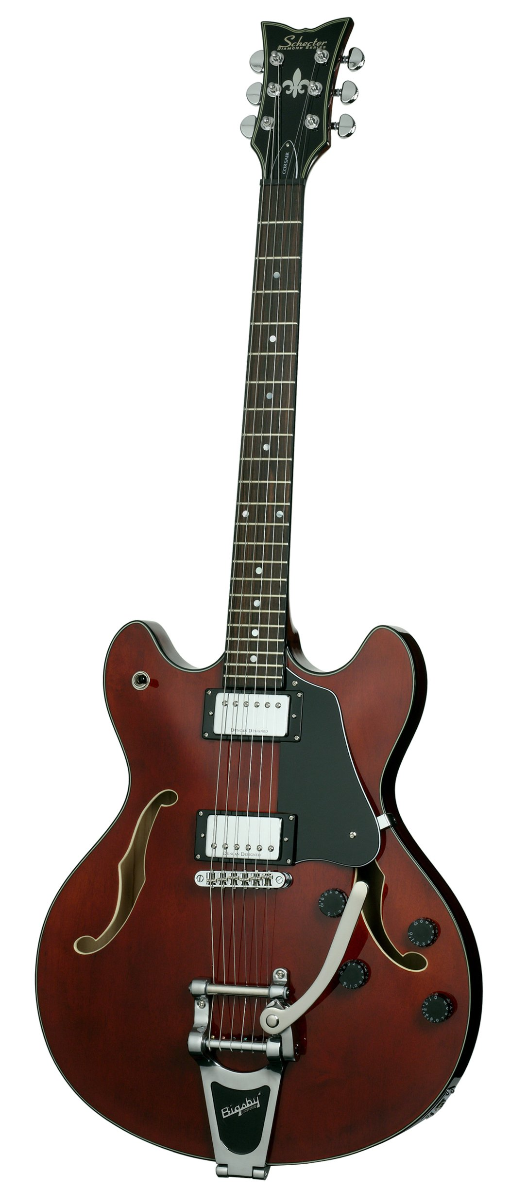 Cheap Schecter Corsair with Bigsby Electric Guitar (Gloss Walnut) Black Friday & Cyber Monday 2019