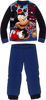 Pijama de Invierno Mickey Mouse Azul Coralina de 3 a 8 años