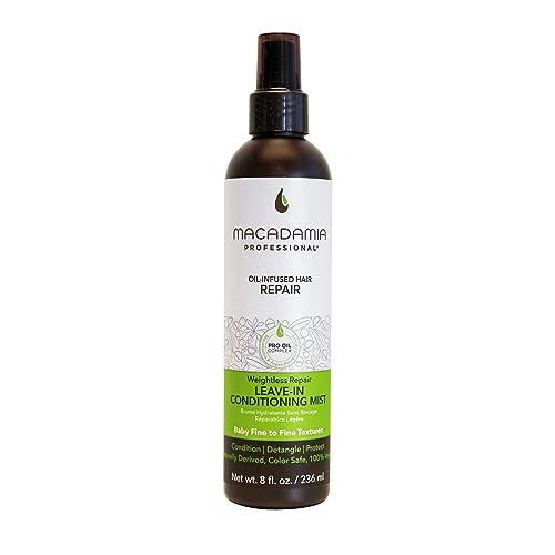 Macadamia Professional Leave-In Conditioning Mist, 8 Fl oz