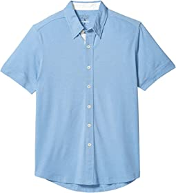 Short Sleeve Active Puremeso Button-Down