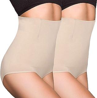 OLIKEME Women's Shaper,High Waist Firm Seamless Tummy Control Shapewear for Women