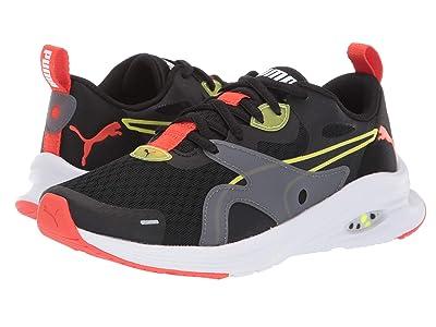 Puma Kids Hybrid Fuego (Big Kid) (PUMA White High-Rise/Castlerock High-Rise) Boys Shoes