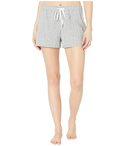 LAUREN Ralph Lauren Cotton Polyester Jersey Separate Boxer Shorts (Grey Stripe) Women