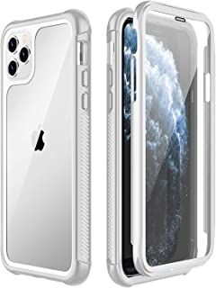 SPIDERCASE iPhone 11 Pro Max Case, Built-in Screen Protector Full Heavy Duty Protection Shockproof Anti-Scratched Rugged Case for iPhone 11 Pro Max 6.5 inch