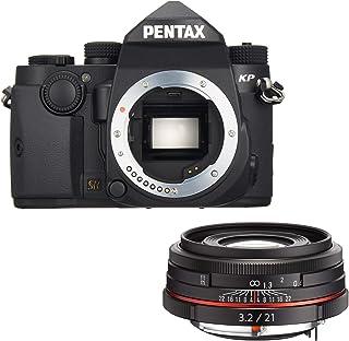PENTAX デジタル一眼レフ KP ボディ 【ブラック】+ 薄型広角単焦点レンズ HD PENTAX-DA21mmF3.2AL Limited ブラック