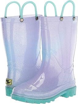 Glitter Ombre Lighted PVC Boot (Toddler/Little Kid)