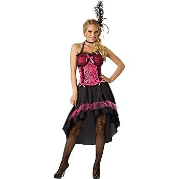 In Character Costumes - Disfraz de cabaret para mujer, talla L ...