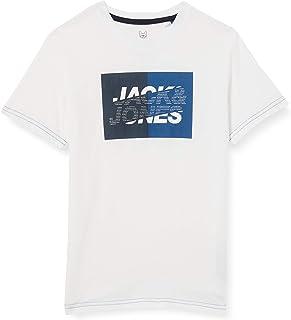 Jack & Jones Junior Jconovo tee SS Crew Neck Jr Camiseta para Hombre