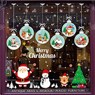 christmas wall and window decorations