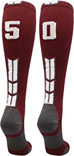 Player Id Jersey Number Socks Over The Calf Length Maroon and White