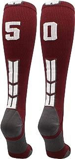 nike maroon baseball socks