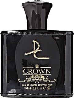 Crown Black by Dorall Collection for Men Eau de Toilette 100ml