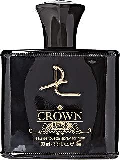 Crown Black for Men 3.3 oz Eau de Toilette - Inspired By Green Irish Tweed