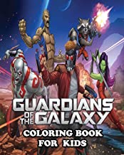 Guardians of the Galaxy Coloring Book for Kids: Coloring All Your Favorite Characters in  Guardians of the Galaxy