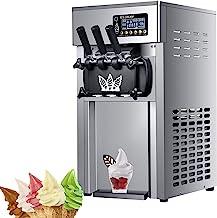 Électrique Machine à Glace Sorbetière Refrigerante Pour Crème Glacée, Sorbet et Yaourt Glacé pour la maison supermarchés c...