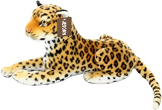 Jesonn Realistic Stuffed Animals Toy Spotted Leopard Plush for Boys and Girls Birthdays Gifts,18.9 or 48CM,1PC