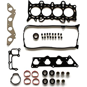 SCITOO Replacement for Cylinder Head Gasket Set Fit for Honda Civic EX HX 1.7L D17A2 D17A6 2001-2005 Engine Head Gaskets Kit Set