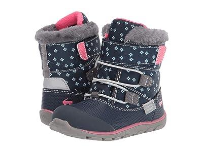 See Kai Run Kids Gilman WP (Toddler/Little Kid/Big Kid) (Navy/Pink) Girls Shoes