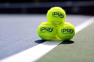 iPlaySports (12) Pressureless Tennis Balls with Mesh Carry Bag