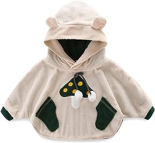 Mud Kingdom Baby Mushroom Costume Fleece Cloak Coat