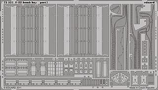Eduard Photoetch 1:72 - F-22 Bomb Bay (academy) - (edp72521)