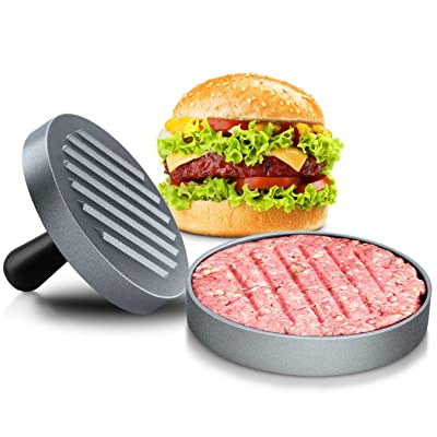 MAJCL Non Stick Burger Press Hamburger Patty Ma...