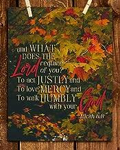 micah bible verses