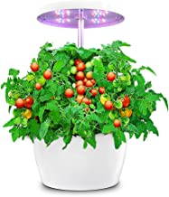 Hydroponic Gardening System, Indoor Herb Garden with Automatic Timer, Hydro Starter Kit for Beginners, Stylish Smart Plant...