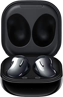 Samsung Galaxy Buds Live, True Wireless Earbuds w/Active Noise Cancelling (Wireless Charging Case Included), Mystic Black ...